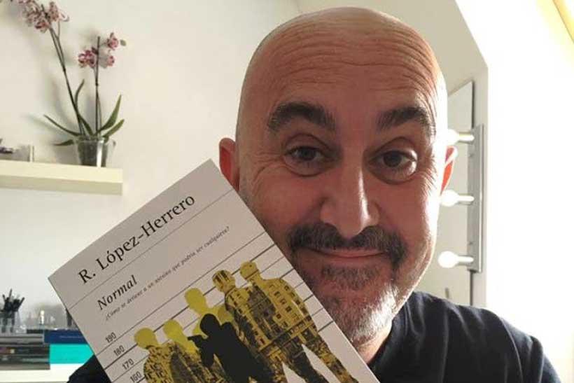 Normal, la última novela de Roberto López Herrero
