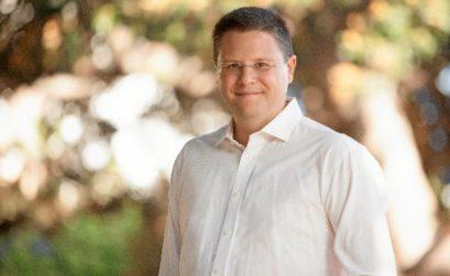 El escritor Bruno Nievas