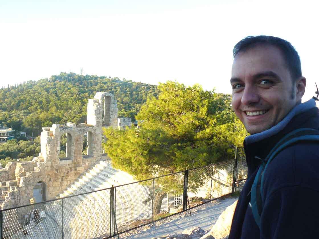 José Zoilo en Atenas