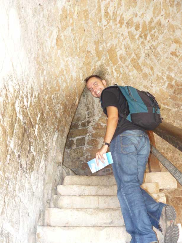 Zoilo en las murallas de la ciudad de Dubrovnik