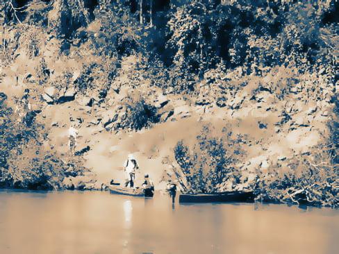 Río Paraná, la frontera del azar