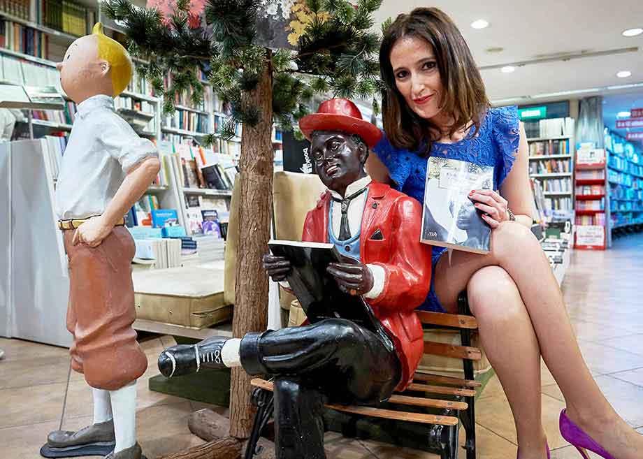 Aida Soilán, autora de Orillas de ébano