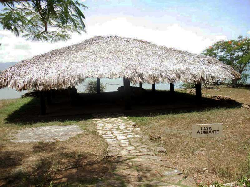 Casa de el almirante Colón en La Isabela