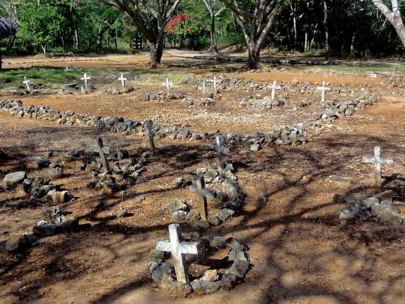 Cementerio de La Isabela, primera ciudad española en República Domincana