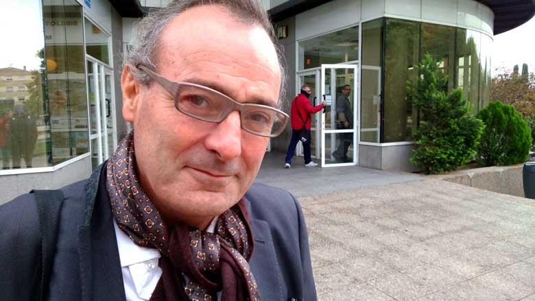 El escritor Fernando Cotta