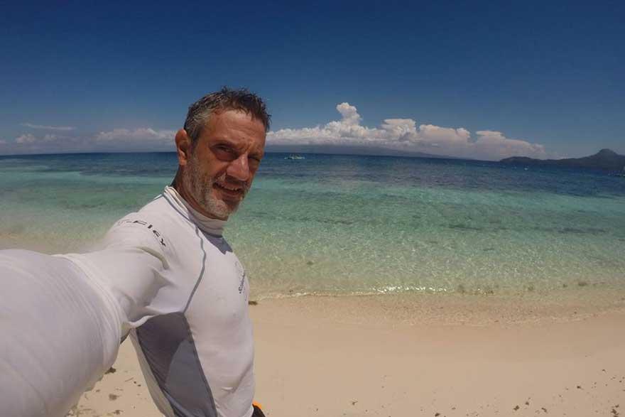 Fernando Gamboa en Filipinas