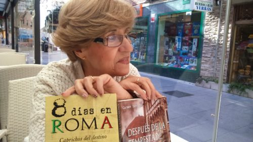 Aprendiendo a vivir, nueva novela de Carmen Torrico, entrevista