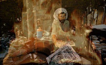 Arde bagdad, entrega de el coleccionista, una novela de cecilia barale