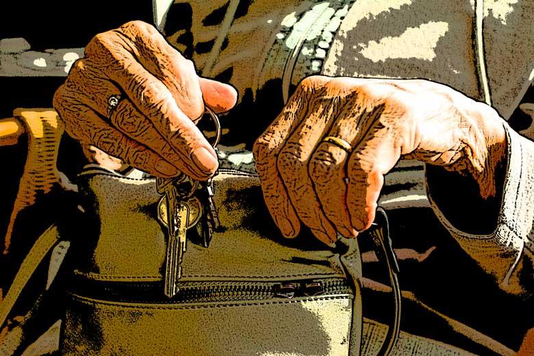 El crimen perfecto de una anciana, entrega de El esclavo de los nueve espejos, una novela de Raimundo Castro