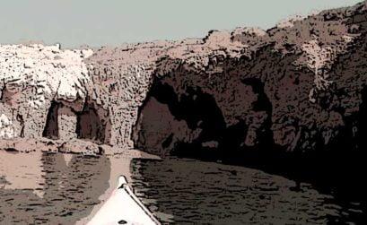 La cueva del león marino, tabarca, entrega de A tres pasos de Luna, una novela de Beatriz Cáceres
