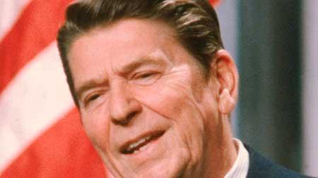 Ronald Reagan, mediocre en lo suyo, gigante en la historia