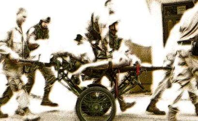 Chistes de niños soldados, entrega de El coleccionista, una novela de Cecilia Barale