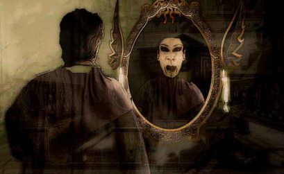 Padre soy un vampiro y quiero confensarme, entrega de El esclavo de los nueve espejos, una novela de Raimundo Castro