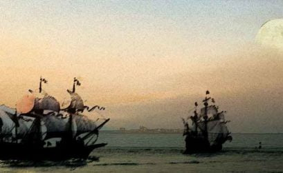 Sueños de corsarios esclavos y fragatas, entrega de A tres pasos de Luna, una novela de Beatriz Cáceres