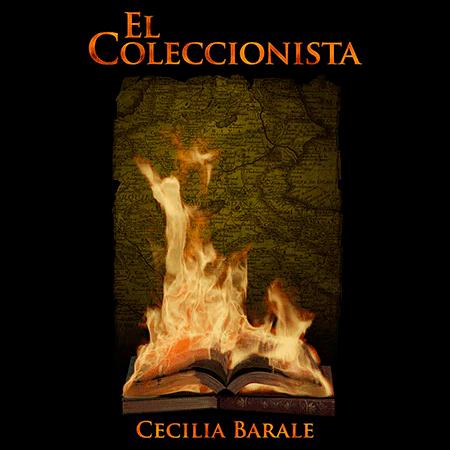 Portada de la novela El coleccionista, de Cecilia Barale