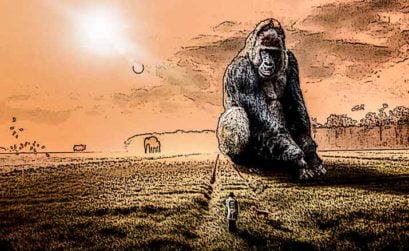 El sueño recurrente del mono, entrega de Qué día el de aquella noche, una novela de Ignacio León Roldán