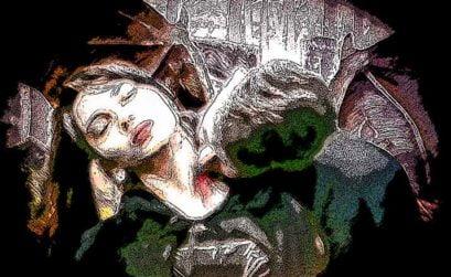Un triste vampiro portugués, entreva de El esclavo de los nueve espejos, de Raimundo Castro