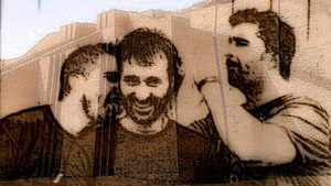 Tres amigos, entrega de la novela El coleccionista, de Cecilia Barale