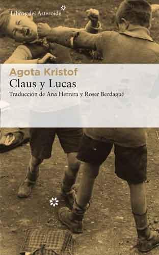 Portada de la novela Klaus y Lucas