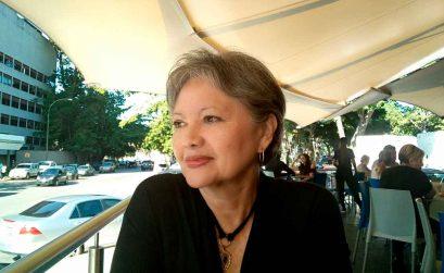 La escritora Blanca Miosi, autora de Hijo del pasado