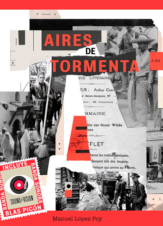 Portada del libro musical Aires de tromenta, escritor por Manuel López Poy, música de Blas Picón