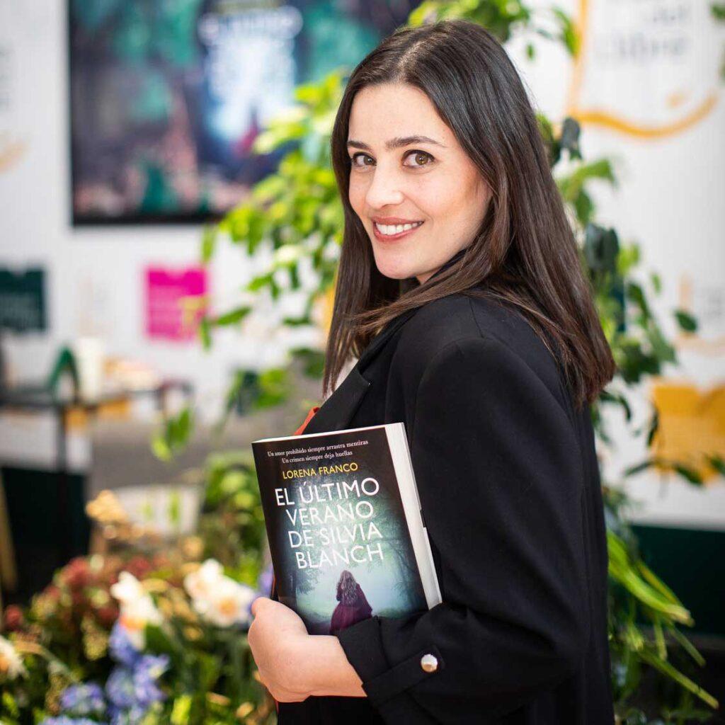 Lorena Franco, desaparición de Silvia Blanch, autora de la novela El último verano de Silvia Blanch